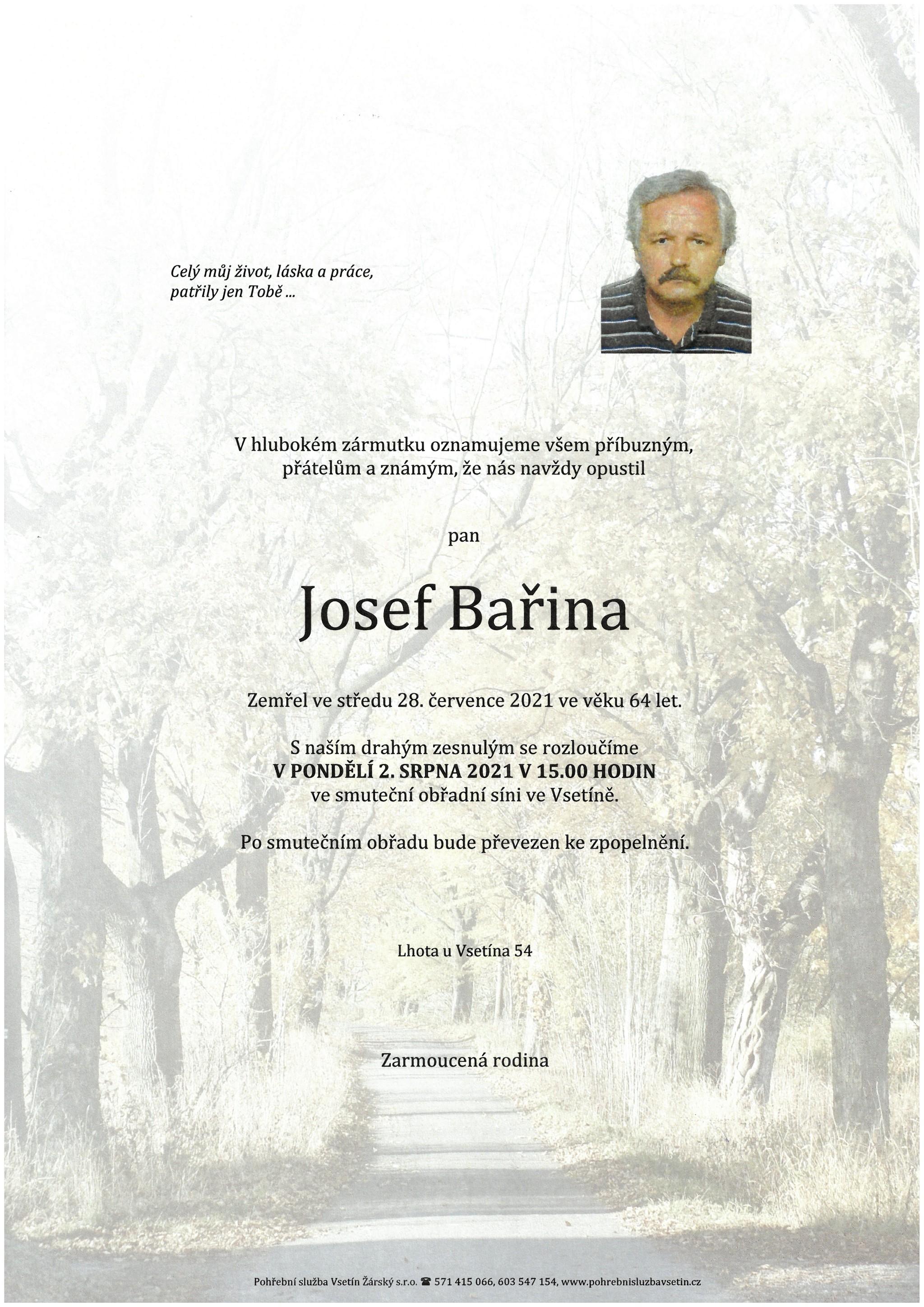 Josef Bařina