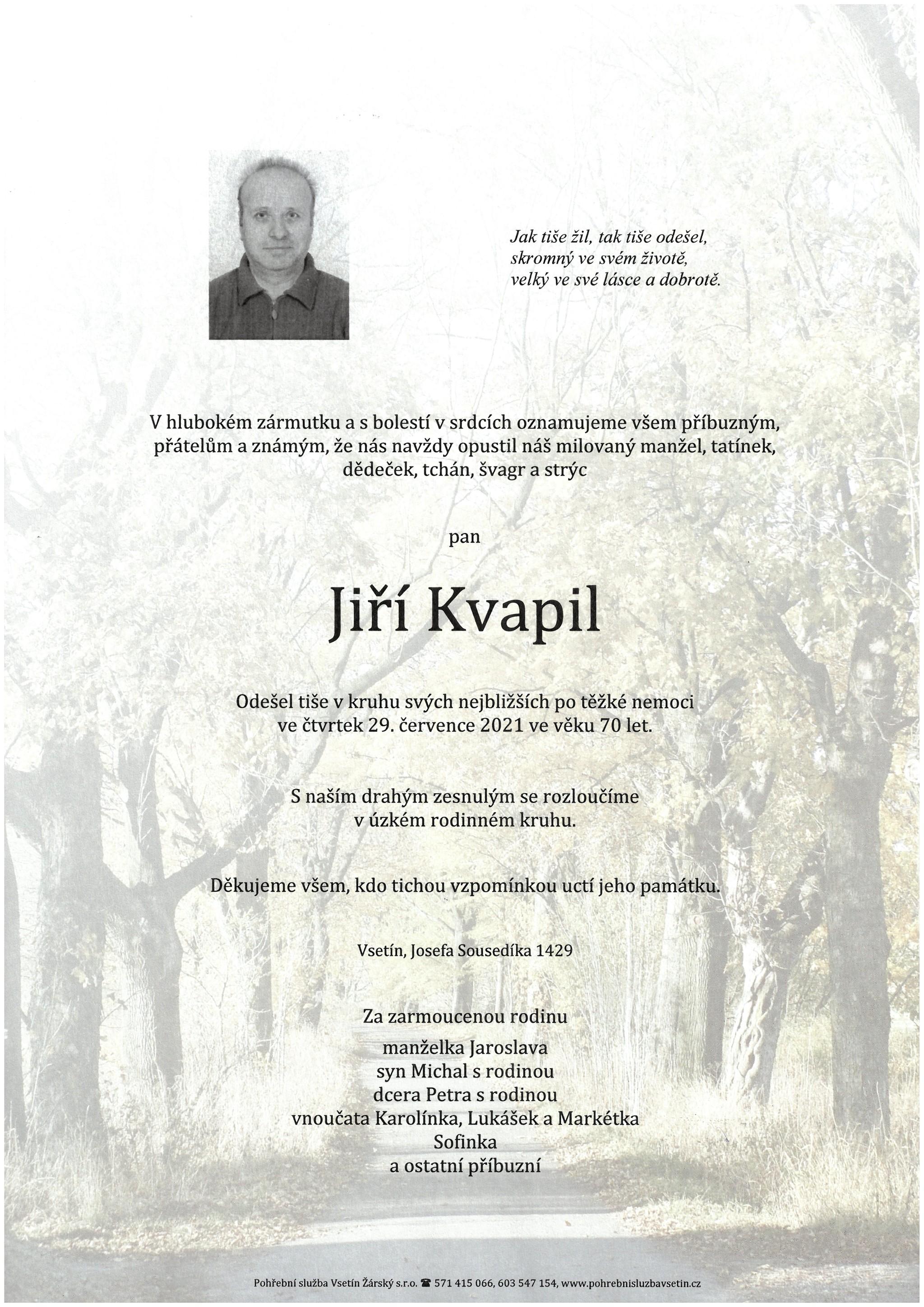 Jiří Kvapil