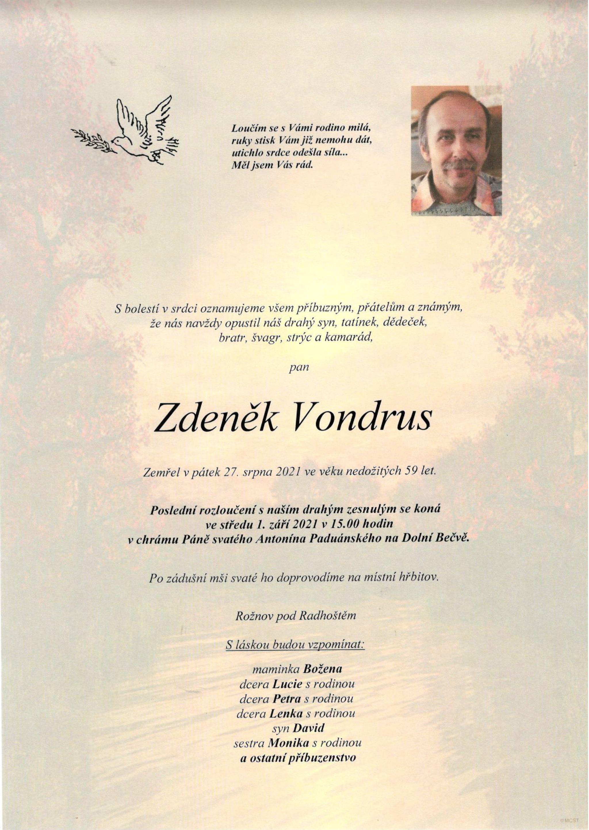 Zdeněk Vondrus