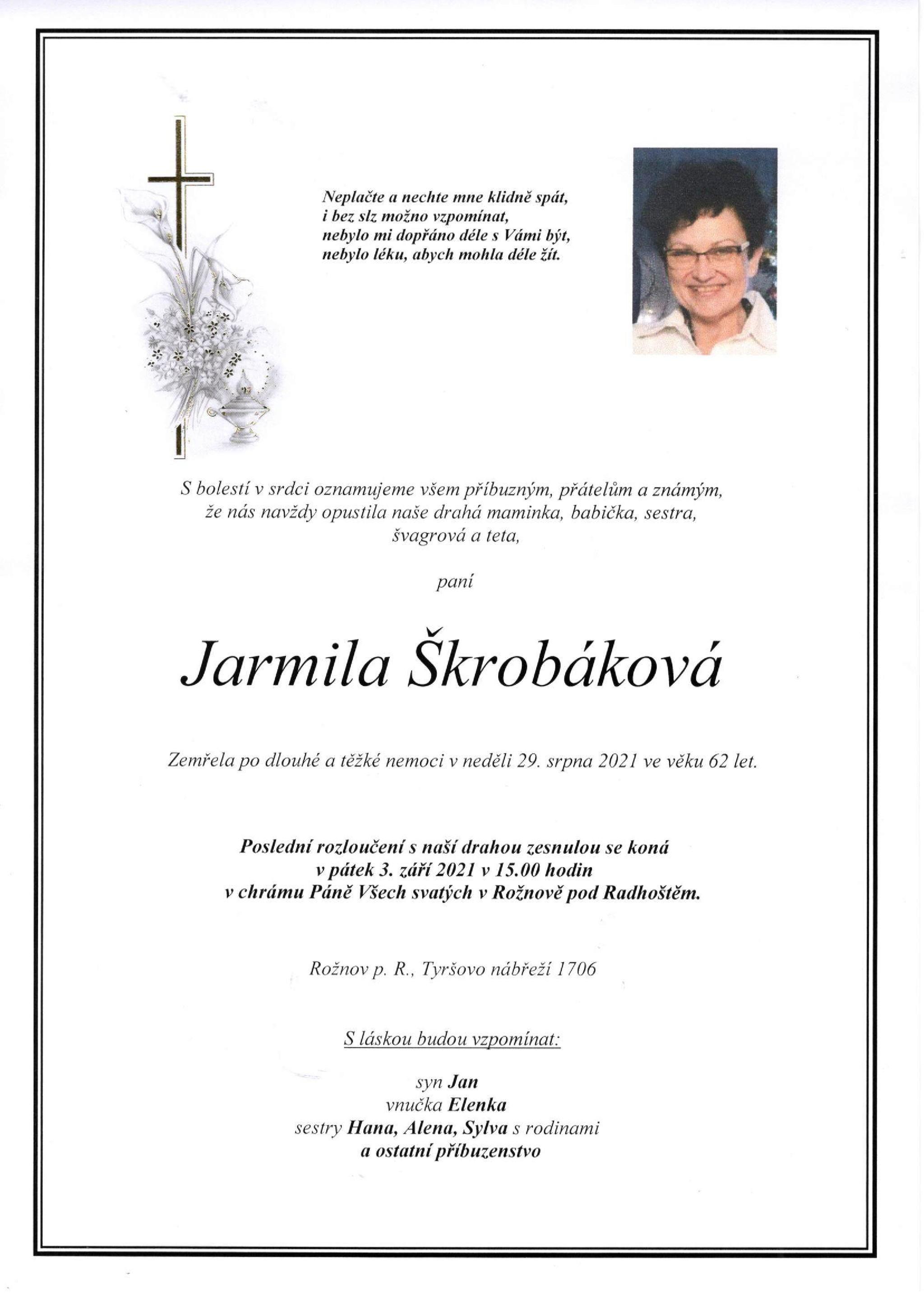 Jarmila Škrobáková
