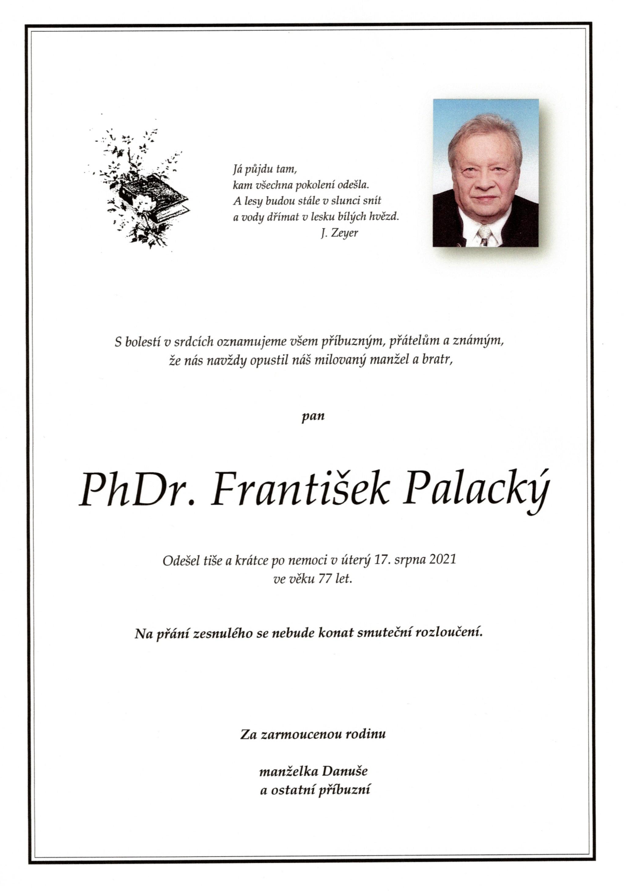 PhDr. František Palacký