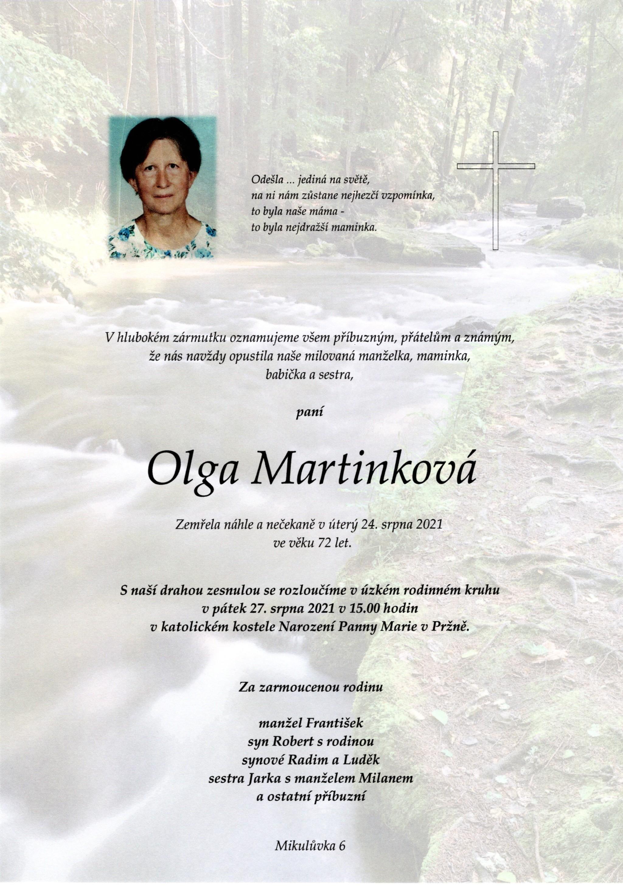 Olga Martinková