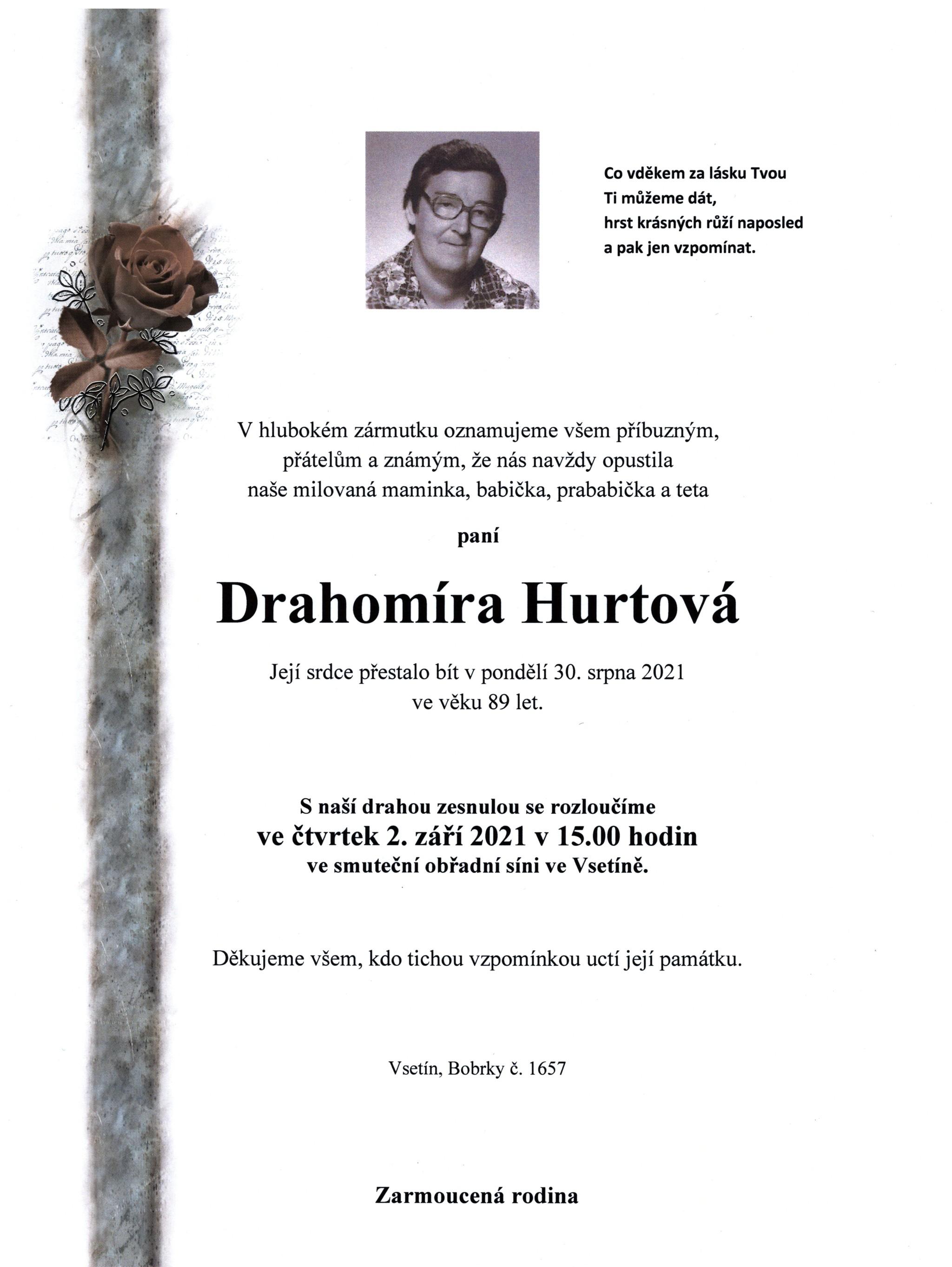 Drahomíra Hurtová