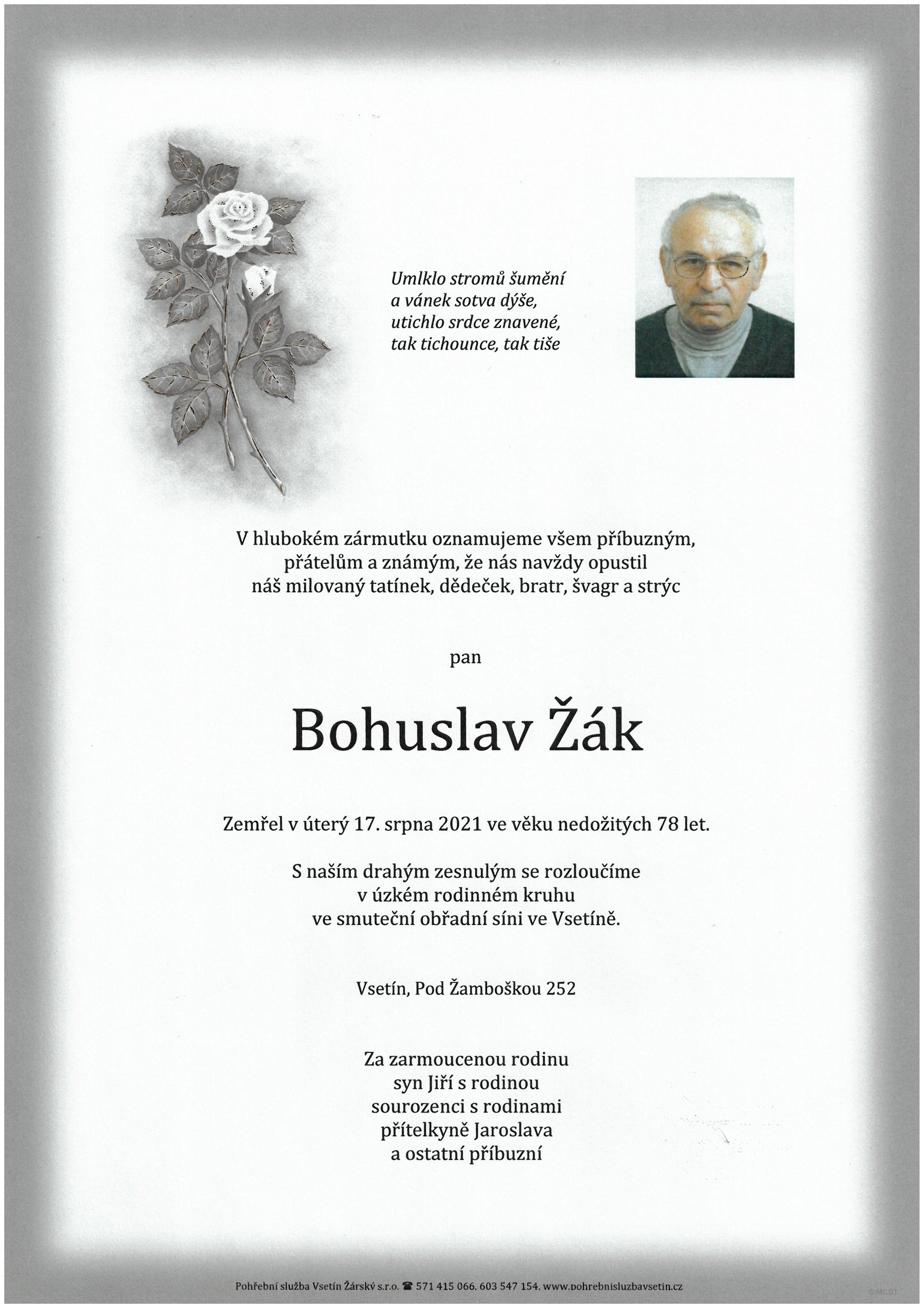 Bohuslav Žák
