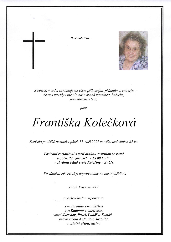 Františka Kolečková