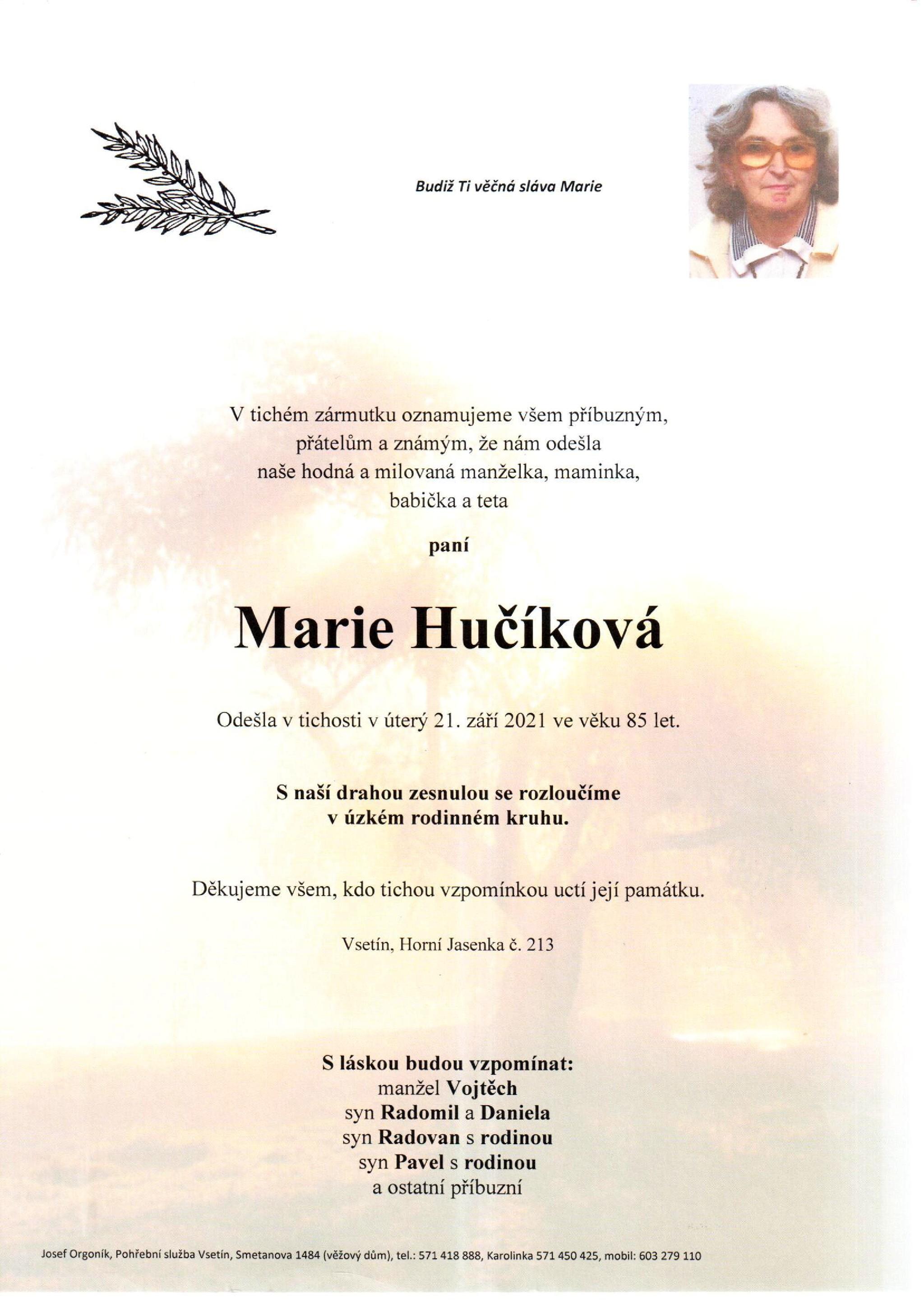 Marie Hučíková