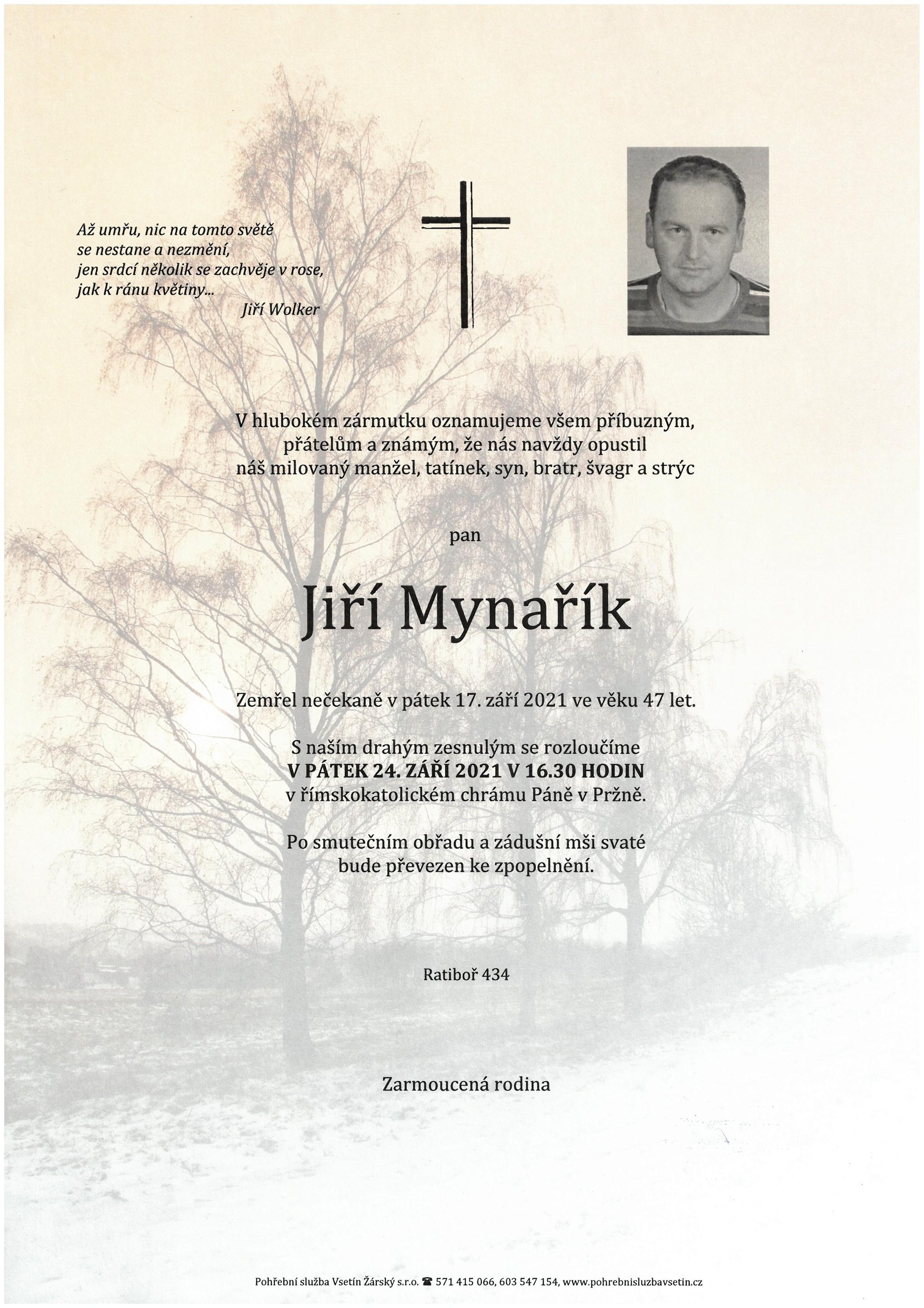 Jiří Mynařík