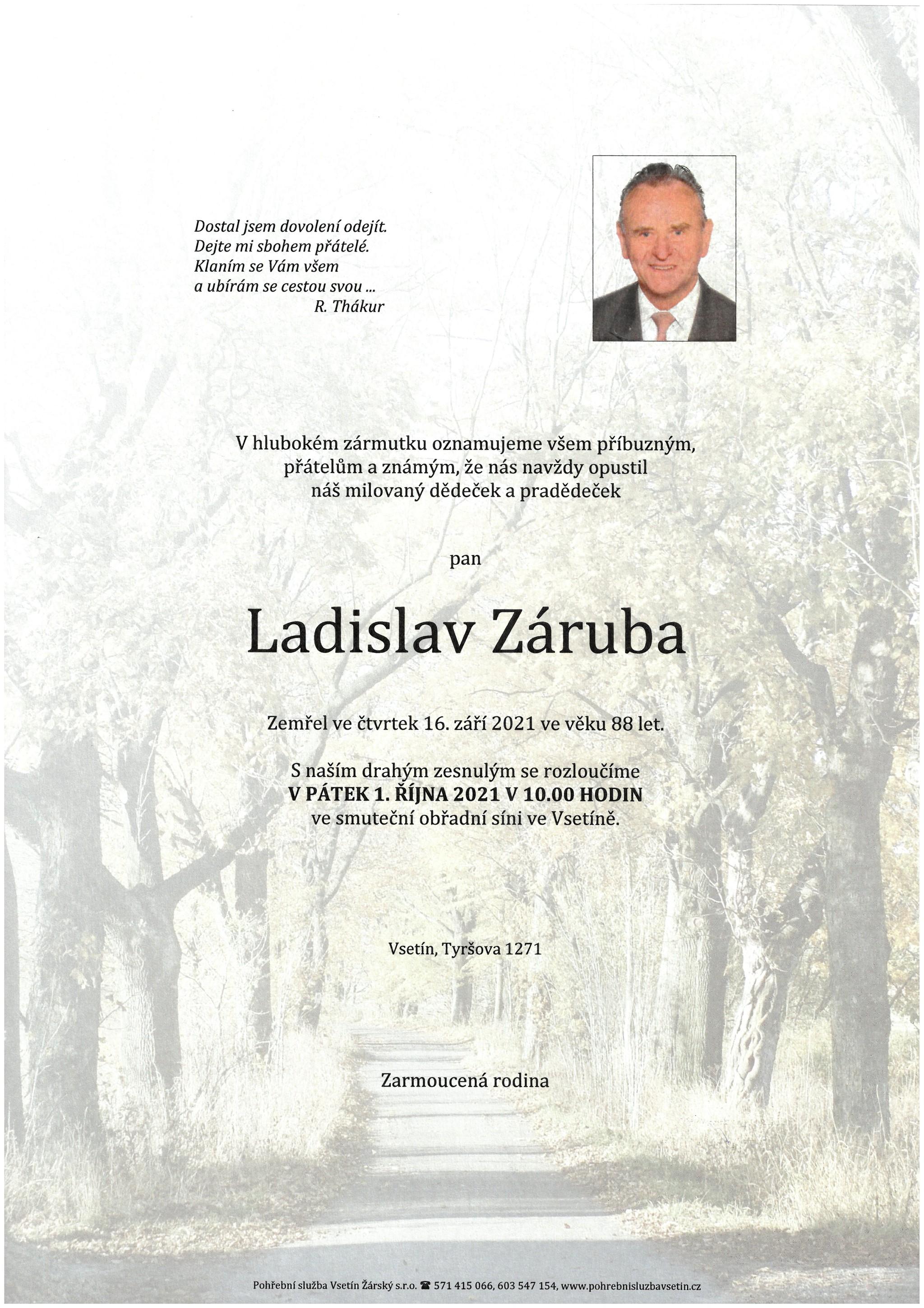 Ladislav Záruba