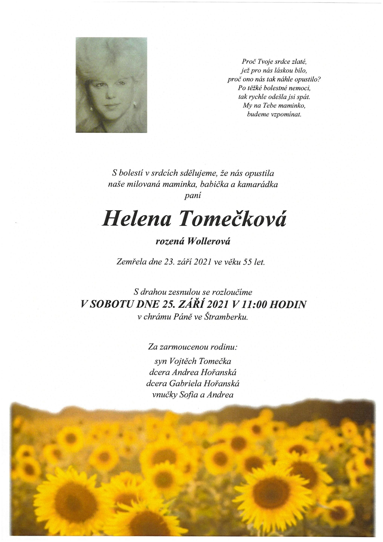 Helena Tomečková